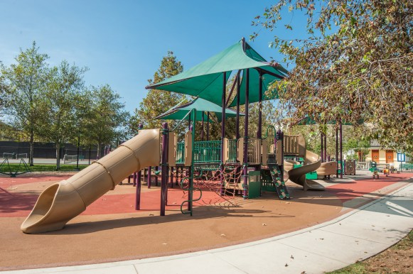 Playground at Playa Vista Sports Park in Playa Vista, CA