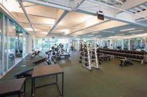 Weight Room at The Resort in Playa Vista, CA
