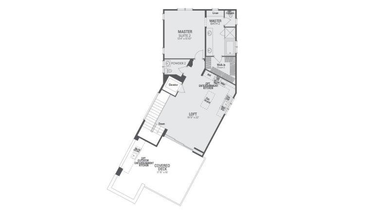 Encore Playa Vista Plan 1 Floor 2
