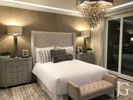 Jewel Playa Vista Plan 2 Master Bedroom