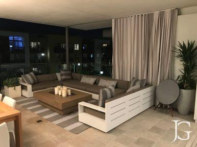 Jewel Playa Vista Plan 2 Top Floor Exterior Patio
