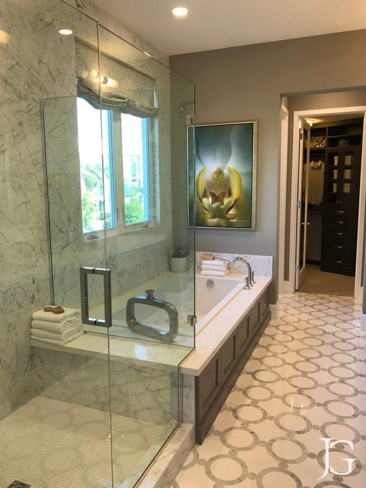 Marlowe Playa Vista Model Home Plan 1 Master Bathroom