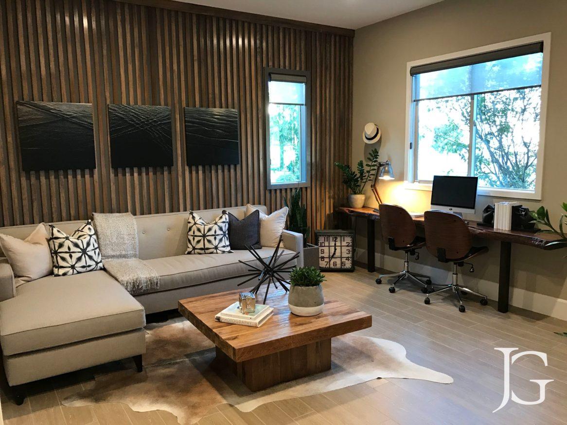 Mason Playa Vista Plan 3 Model Lower Level Room