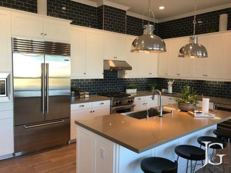 Mason Playa Vista Plan 2 Model Kitchen