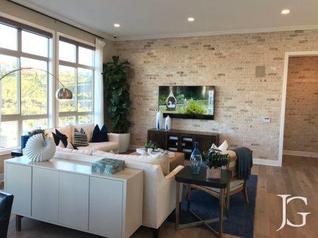 Mason Playa Vista Plan 2 Model Living Room