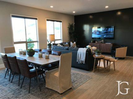 Mason Playa Vista Plan 3 Model Living Room