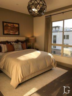Mason Playa Vista Plan 1 Model Bedroom