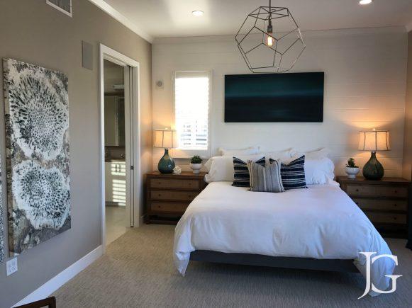 Mason Playa Vista Plan 2 Model Master Bedroom