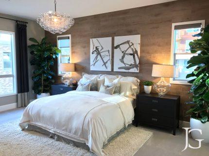 Mason Playa Vista Plan 3 Model Master Bedroom