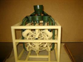 """""""Permutation Prime"""" model gated & vented & ready for investment molding"""