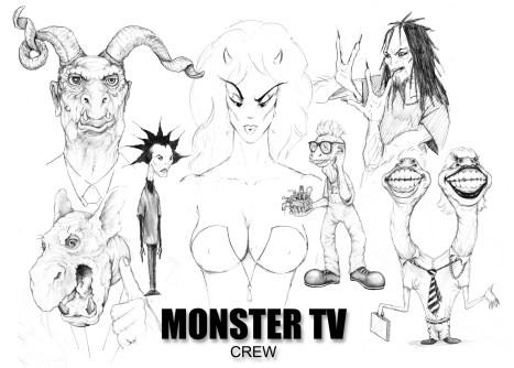 """Monster TV"" Concept Art (Astropolitan Pictures)"