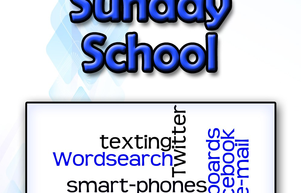 Group email and the Sunday School