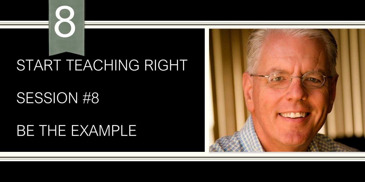 Teach by example