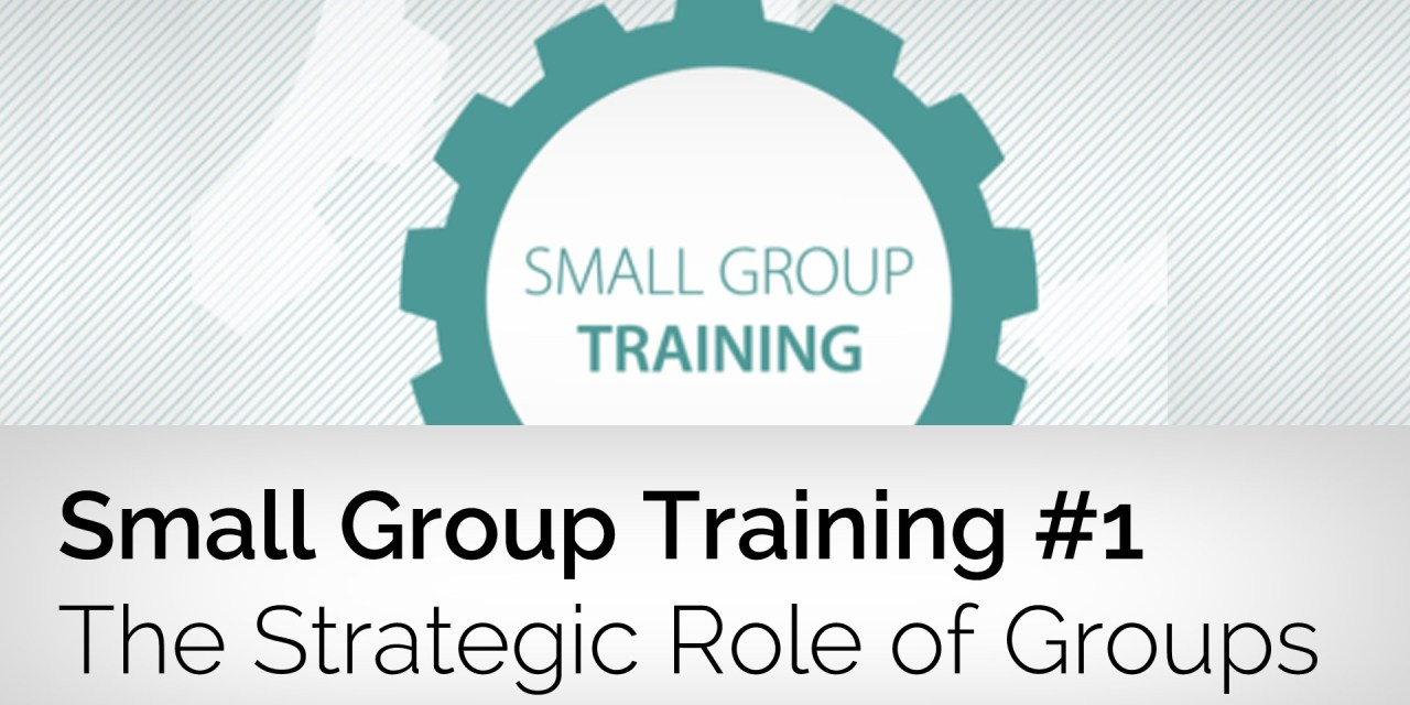 The Strategic Role of Small Groups