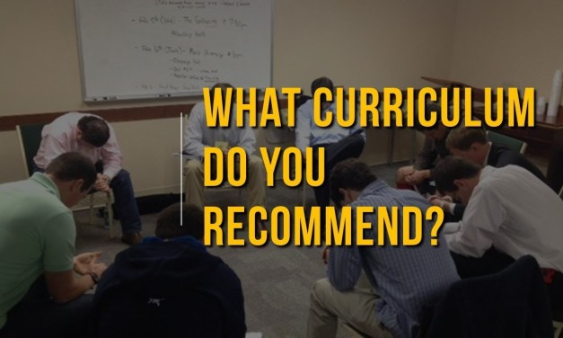 What curriculum do you recommend?