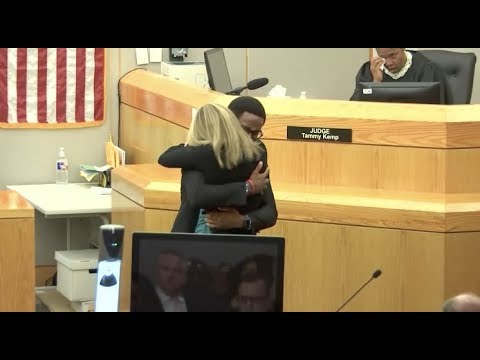 Offering Forgiveness, Man Hugs Police Officer Who Killed His Brother