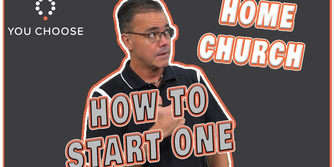 This might be a good time to start a house church
