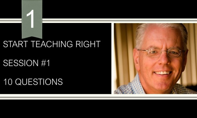 How to teach using 10 questions