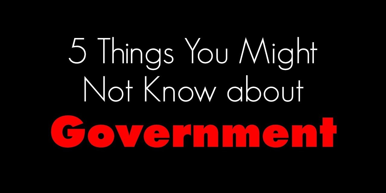 5 Things You Might Not Know About Government