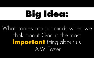 What comes to your mind when you think about God?