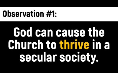 How the church can thrive in a secular society