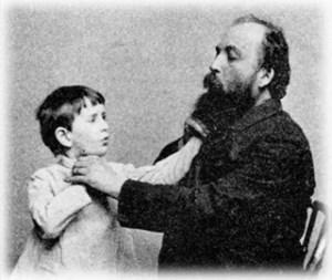 Alexander Graham Bell with Deaf Child