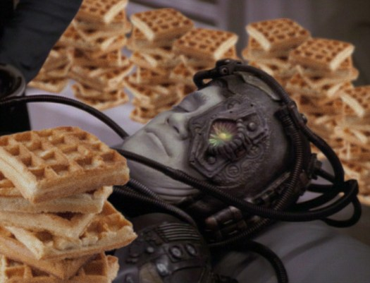Borg and waffles