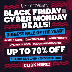 Pre-Black Friday on Loopmasters Already Started!!! Up to 70% Off!!!