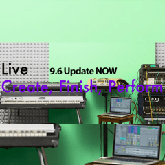 Ableton Live 9.6 Update Ready