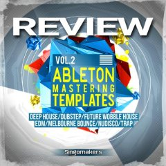Review: Ableton Mastering Racks v.2 by Singomakers