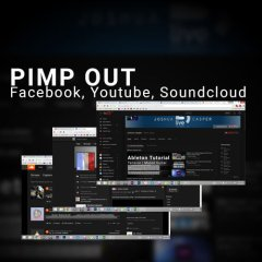 Pimp Out Facebook, Youtube, Soundcloud & more…