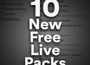 10 New Free Live Packs for Ableton Live 10! – Also How to Download & Install inside Live 10