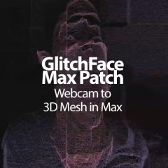 GlitchFace Max Patch | Webcam to 3D Mesh in Max