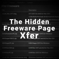 Xfer Records Hidden Free Plugs Page