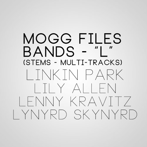 MOGG Files – L – Bands Beginning with L [78 Tracks] - Joshua