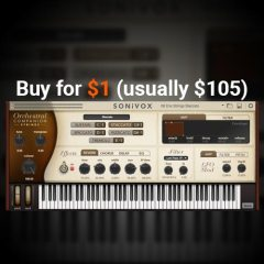 Sonivox OC Strings for $1!! Don't miss this!!