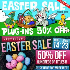 Easter Loopmasters & Plugin Boutique Sale