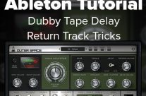 Ableton Tutorial: Dubby Tape Delay Return Track Tricks w/ Outer Space