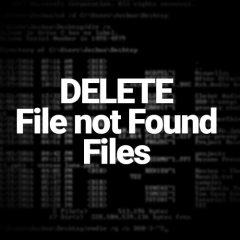 Delete Undeletable Folders (directories) via CMD – SSNC