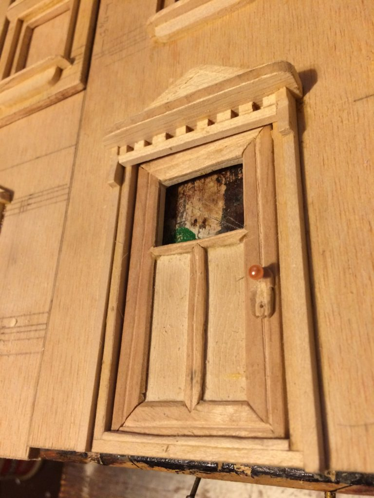 Front door closeup