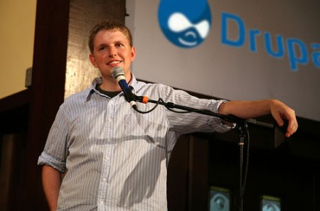 Mullenweg at a DrupalCon?