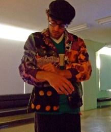 Austin operating the jacket