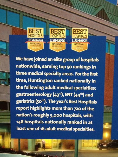Huntington NY Otolaryngology ranked nationally
