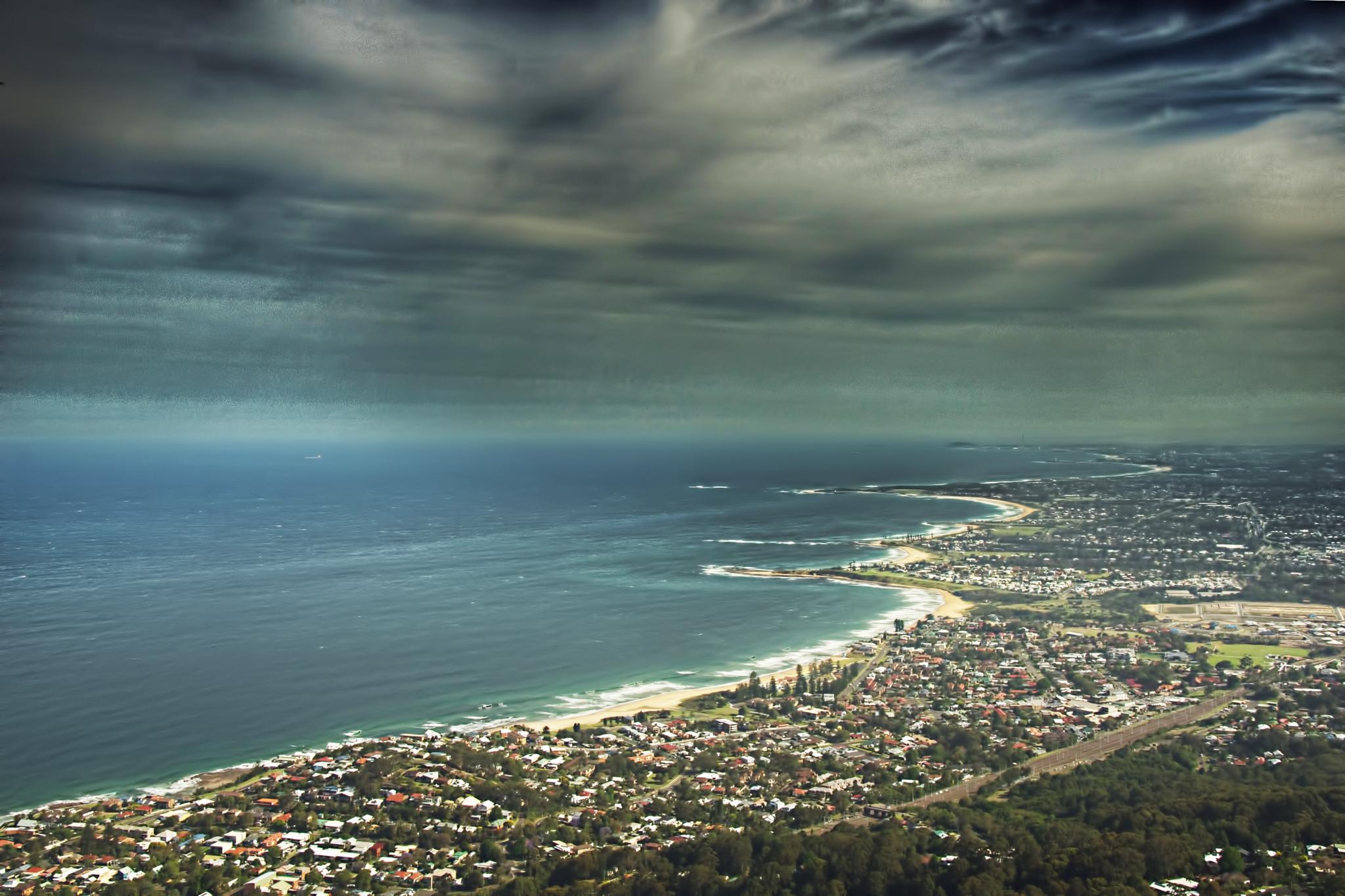 Above Wollongong