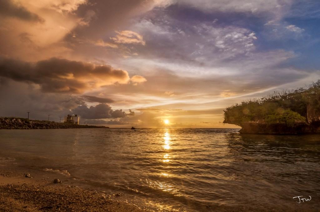 Cabras Island Sunset