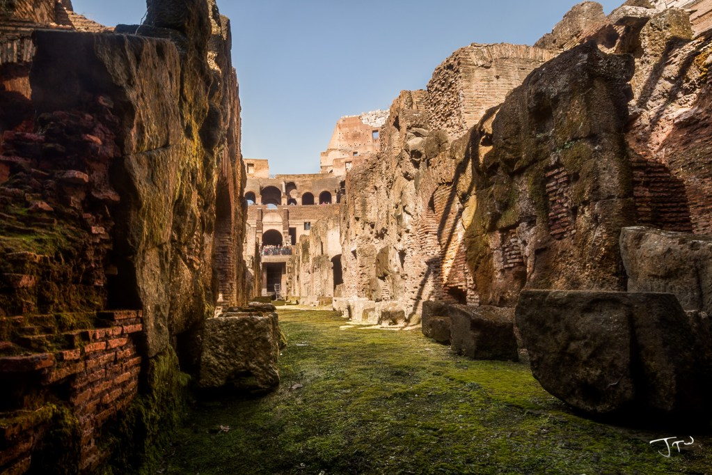 Under the Colosseum