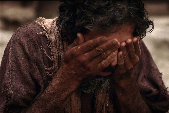 blind man healing at bethsaida