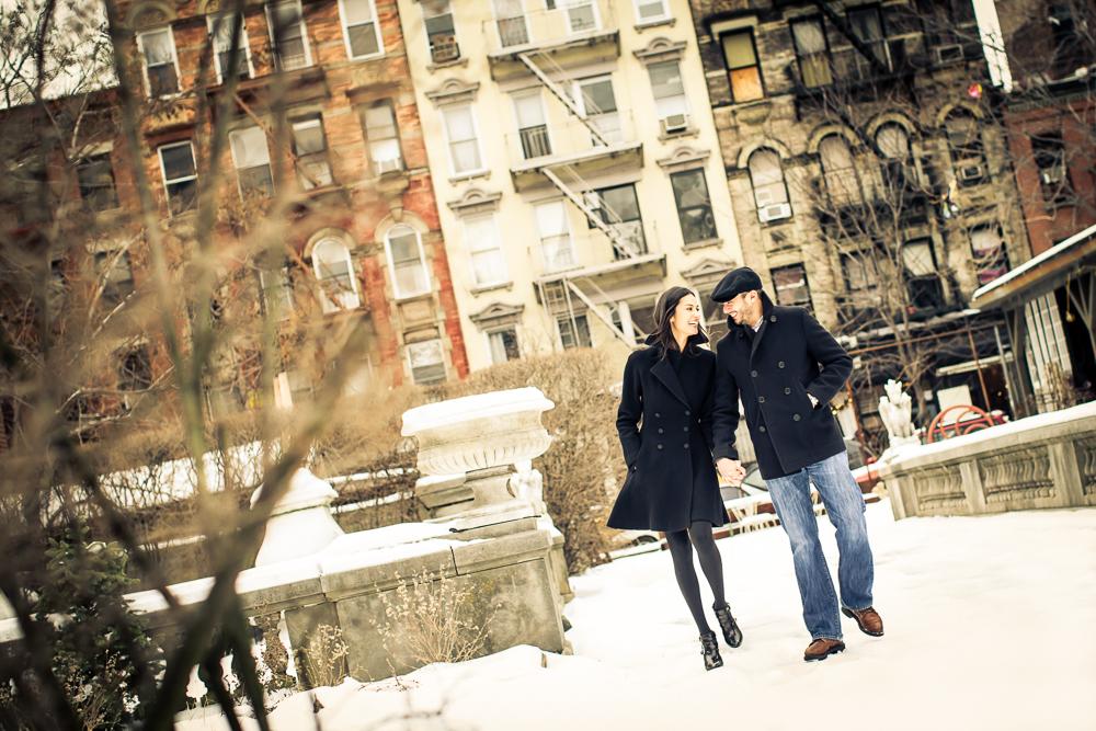 SOHO NYC Winter Engagement