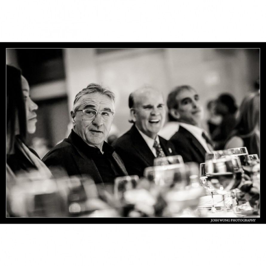 Dinner with Robert De Niro