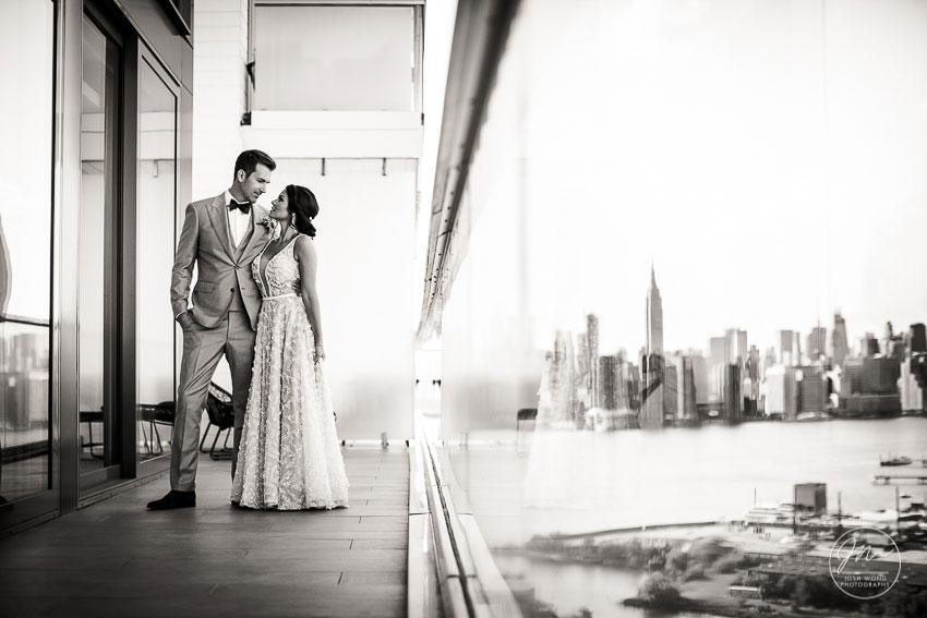 Brooklyn Wedding Photographer. The William Vale Wedding Photos. Top Wedding Photographers